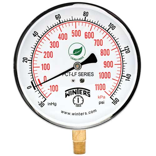 Winters Instruments - PCT Contractor Pressure Gauges